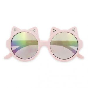 46mm Cat Ear Round Sunglasses