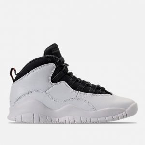 BOYS' GRADE SCHOOL AIR JORDAN RETRO 10 BASKETBALL SHOES
