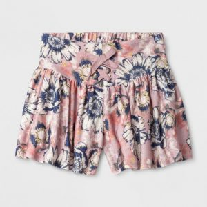 Girls' Reverse French Terry Shorts