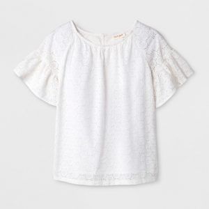 Girls' Short Sleeve Top