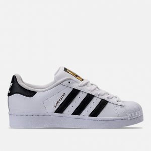 KIDS GRADE SCHOOL ADIDAS SUPERSTAR CASUAL SHOES